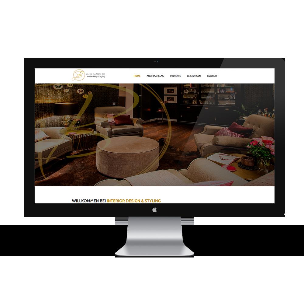 Calcanto Werbeagentur Referenz Anja Baarslag Webseite