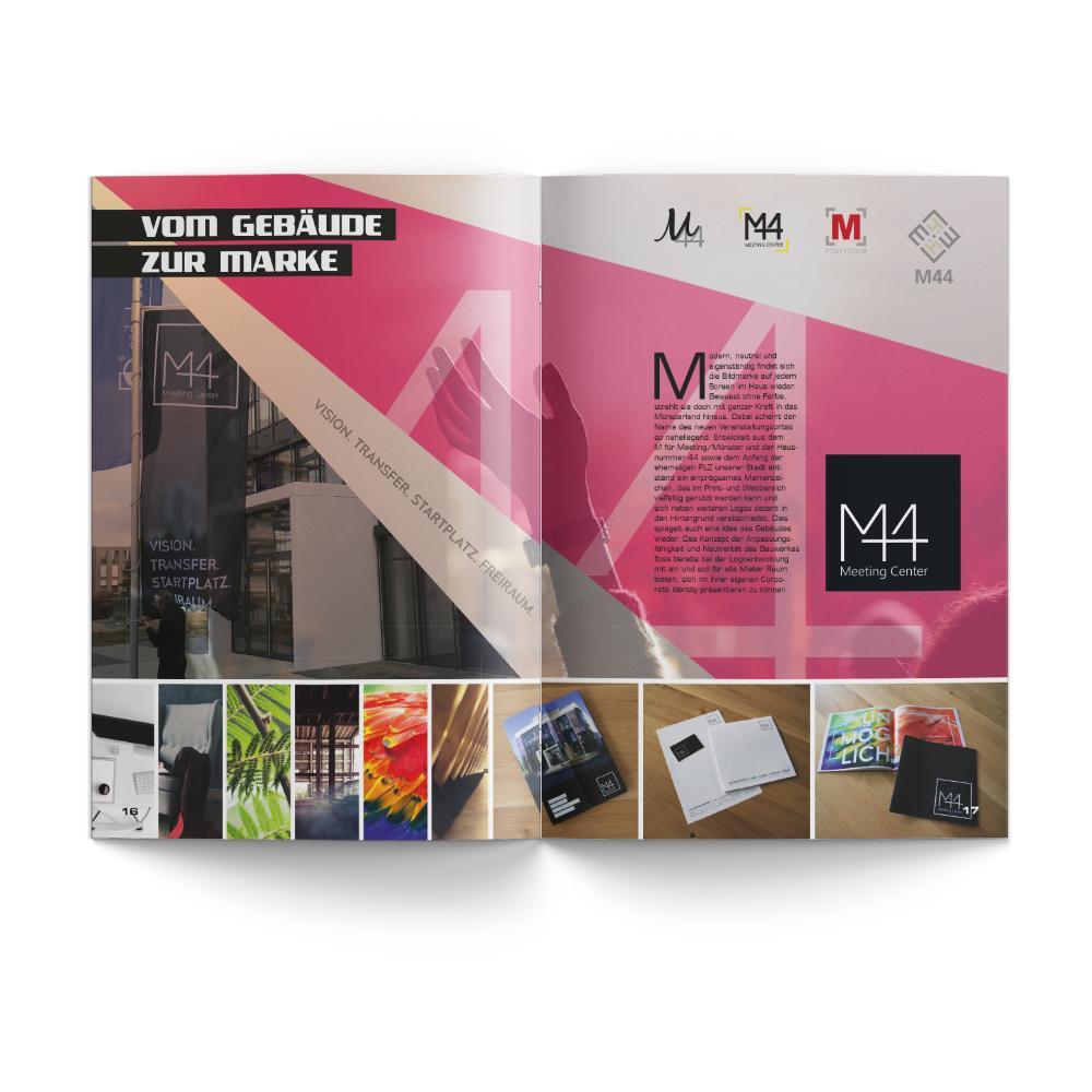 Calcanto Werbeagentur Referenz M44 Jahrbuch