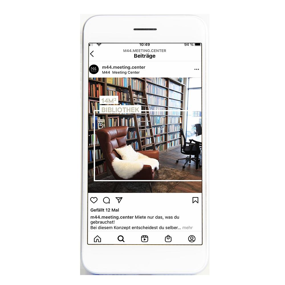 Calcanto Werbeagentur Referenz M44 Instagram